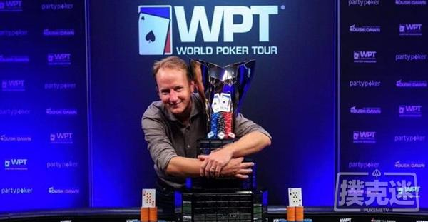 Simon Brändström拿下WPT UK主赛冠军,奖金0,000
