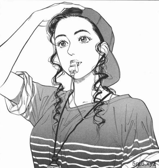 《灌篮高手》狗血剧情 彩子T恤被扯烂色气十足