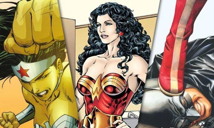 DC漫画《神奇女侠:海克提亚誓约》 蝙蝠侠跪地亲吻神奇女侠大腿掉价