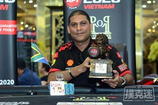 Rayhaan Adam获得今年首个APT主赛冠军