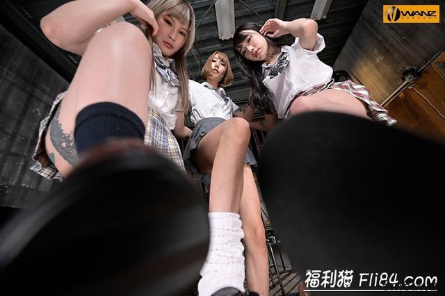 WAVR-007:另类梦之共演!三大刺青女齐聚榨汁!