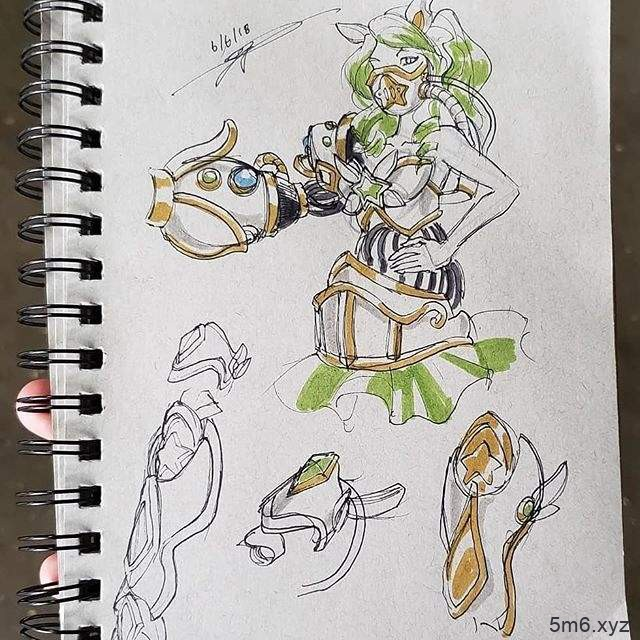 AX动画展览会 玩家Cosplay《英雄联盟》乌尔加特的星光少女造型造型受欢迎
