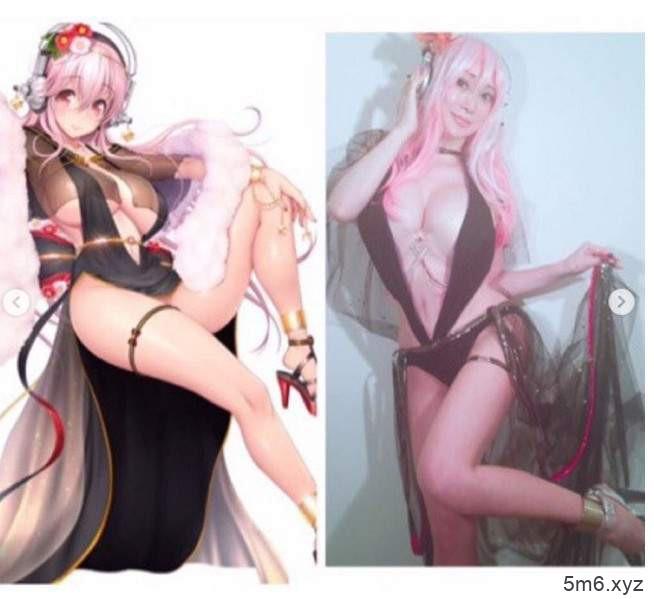 叶美香cosplay超级索尼子 性感造型神还原