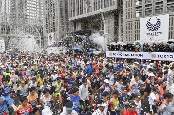 【博狗体育】东京马拉松赛3月1日举行 参赛选手只有210人