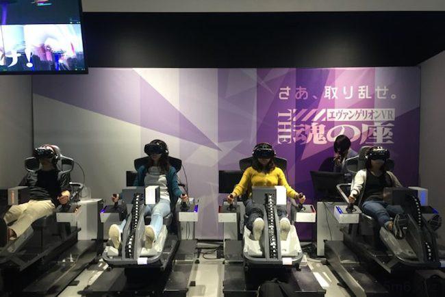 日本最大虚拟实境乐园 体验虚拟实境游戏旅程