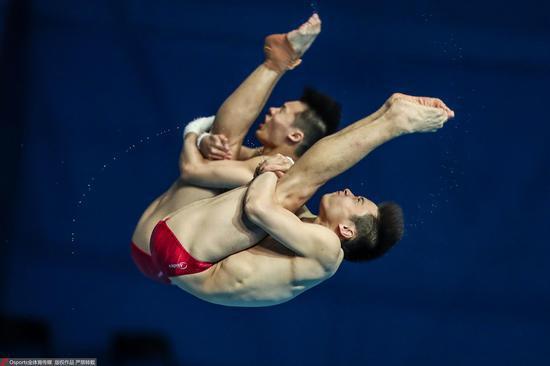 【博狗体育】奥运延期后中国跳水首次检阅 10米台陈艾森未达标