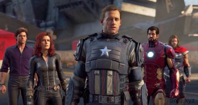 电玩游戏《漫威复仇者连盟》预告 多人模式玩家角色不重复