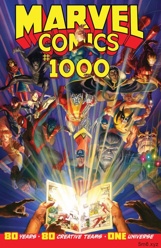 漫威80周年漫画特刊第1000期 回顾漫威漫画发展史