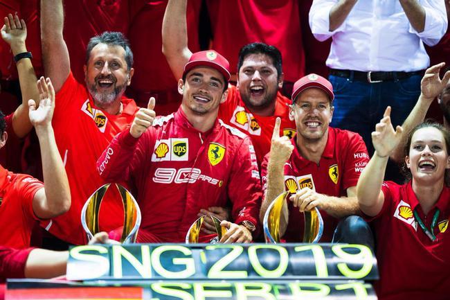 【博狗体育】F1| 勒克莱尔送别维特尔:做你的队友是巨大荣誉