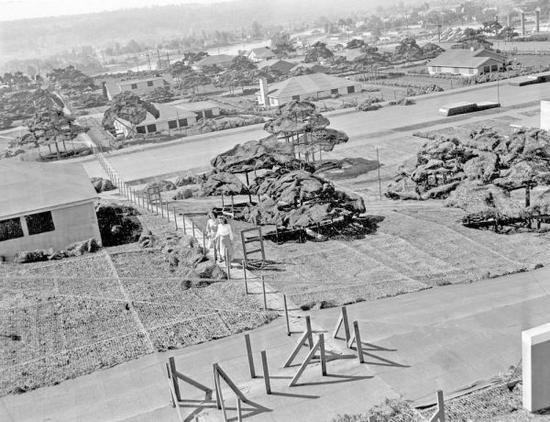揭秘二战美造假城迷惑敌人