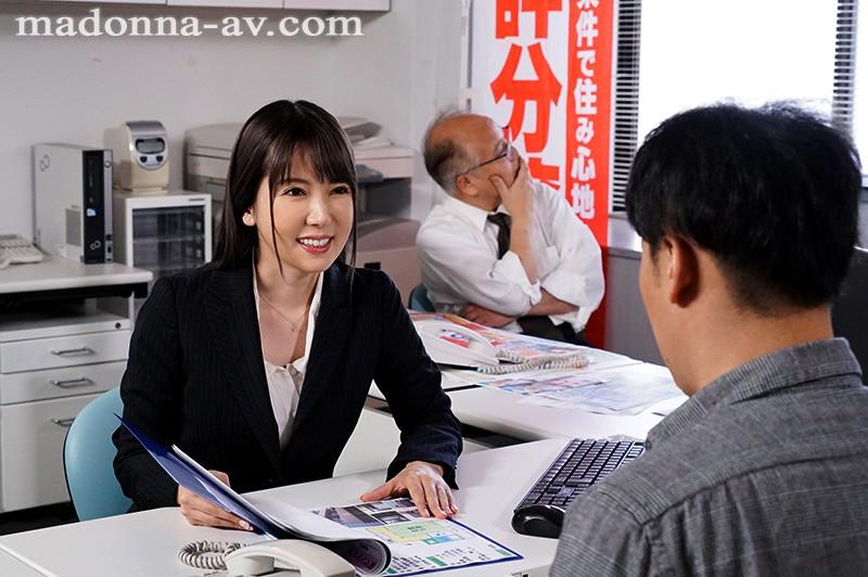 【博狗新闻】JUL-344:美女中介波多野结衣尽情享受年轻房客的肉棒!