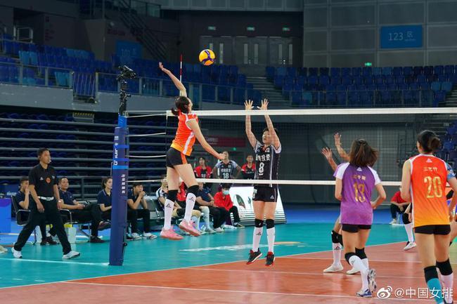 【博狗体育】朱婷休战天津女排3-0横扫河南 进攻得分对比44-22