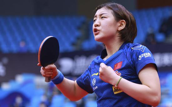 【博狗体育】首夺单打世界冠军 陈梦的奥运席位又加了砝码