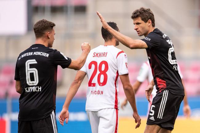 【博狗体育】德甲-穆勒点射 格纳布里罗本式进球 拜仁2-1客胜