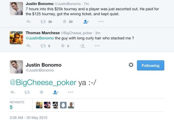 德州扑克搞笑的错误:玩家坐错了位置