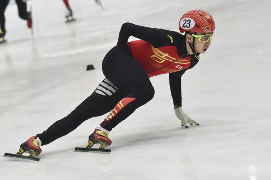 【博狗体育】武大靖扫除阴霾 夺全国短道速滑冠军赛1500米冠军