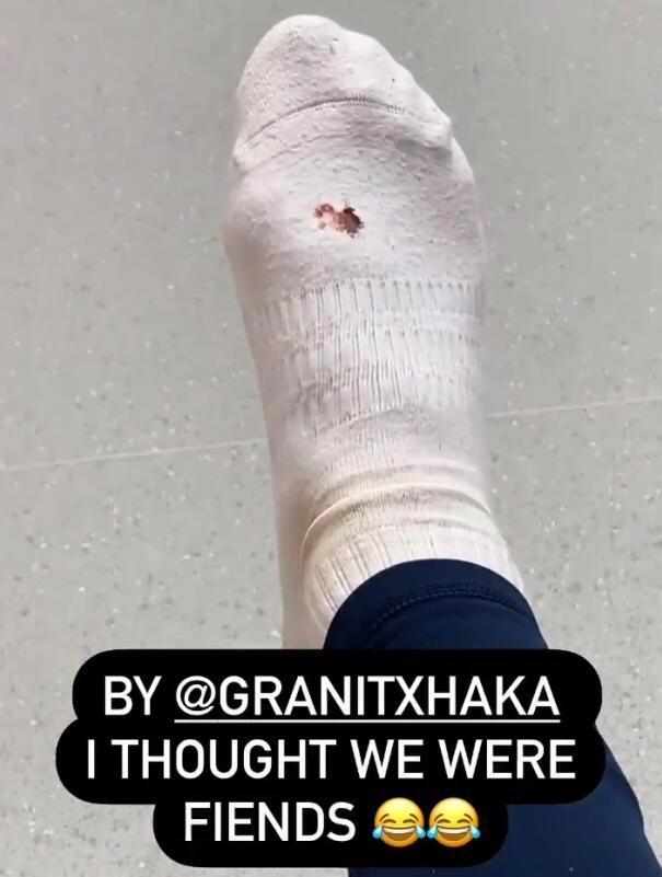 【博狗体育】阿森纳前锋自曝被队友踢伤:还以为咱俩是朋友