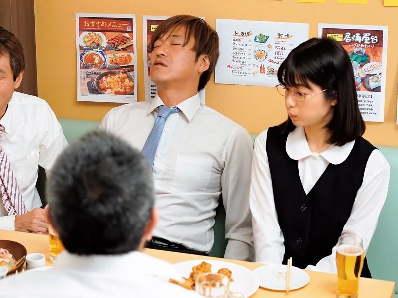 """俗气OL""""川上奈々美""""其实超爱舔 捡尸男同事吞液解渴"""