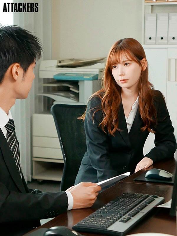"""你还能再来对吧?与憧憬女上司""""明里つむぎ""""每天疯狂做爱到天明!"""