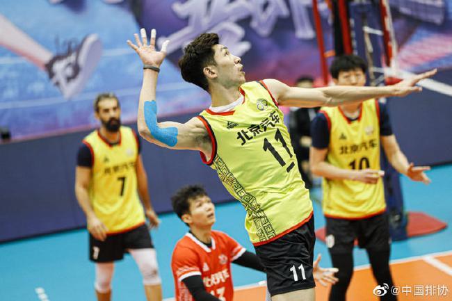 【博狗体育】2020-2021赛季男排联赛最佳阵容北京占4人 江川获MVP