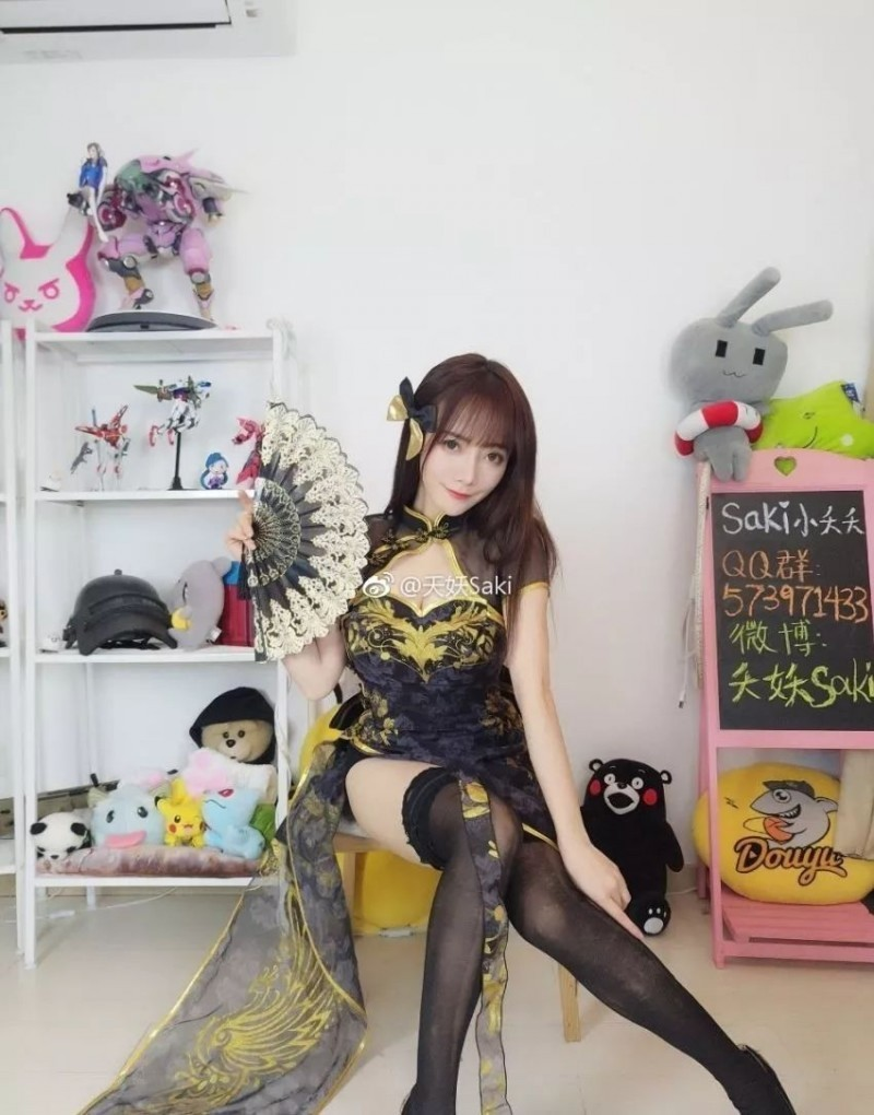 二次元顶级coser@夭妖Saki,盘她!