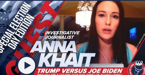 Anna Khait否认关于她与间谍活动有关的报道