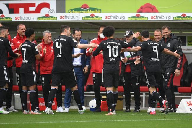 【博狗体育】德甲-莱万进球追平纪录 拜仁两度领先2-2客平