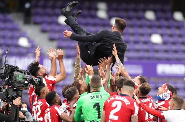 【博狗体育】2次打破皇马巴萨垄断  西蒙尼教练生涯已夺10冠