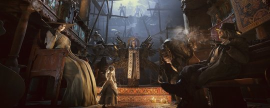 【博狗新闻】《生化危机8》米兰达设定图公布 深受村民信仰的母神 帮派手游