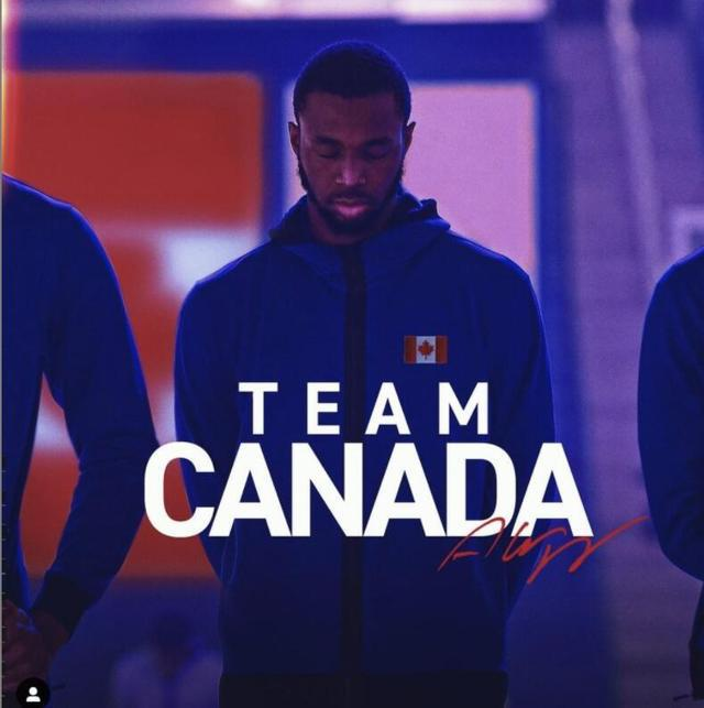 【博狗体育】维金斯宣布将代表加拿大出战奥运落选赛