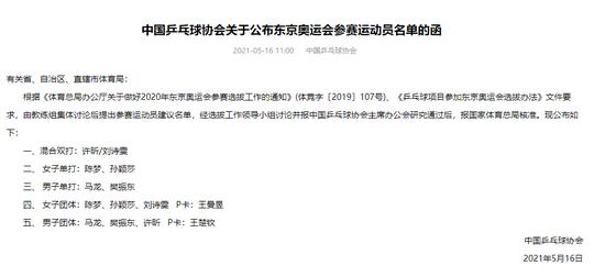 【博狗体育】日媒吐槽中国男乒奥运阵容高龄 你知道为什么吗